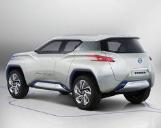 Nissan TeRRA, future car, SUV, futuristic car, Murano, futuristic design, Qashqai, concept, zero emission SUV, green car, vehicle, auto, automobile