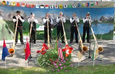 Swiss Volksfest (Swiss Independence Day), New Glarus, WI.