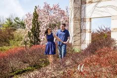 Grounds for Sculpture Engagement Pictures by Michael Chadwick Photography. NJ, NY, PA, Destinations Worldwide. Best of Weddings Hall of Fame.