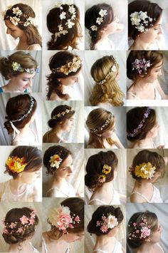 Flower Tiara ideas