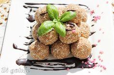 Di gotuje: Trufelki chałwowo-kokosowe (z markiz chałwowych)