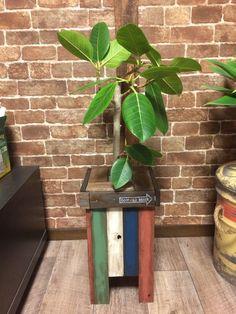 【簡単DIY】古材風カラー塗装で 鉢カバーDIY LIMIA (リミア)