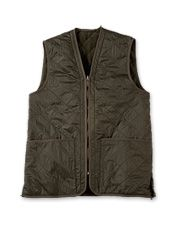 This diamond quilted waistcoat from Barbour is sure to be your new favourite outerwear.