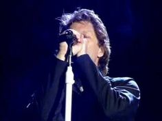 Bon Jovi Halleluja- live in  Glasgow. In the pouring rain..very special.