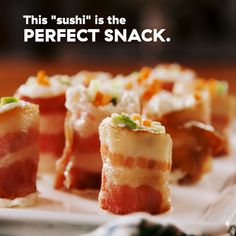 Being on a keto diet means you have way fewer options for snacking. Never fear! These little guys will satisfy all your snack cravings: They Sushi Recipes, Appetizer Recipes, Dessert Recipes, Breakfast Recipes, Appetizers, Snacks Für Party, Keto Snacks, Salty Snacks, Tasty Videos