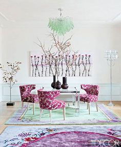 Pantone Color of the Year 2014 - 18-3224 Radiant Orchid - Interior Design