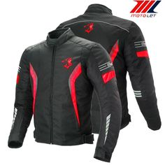 Leather Motorcycle CE Protected Motorbike Heavy Duty Black Lemo Jacket