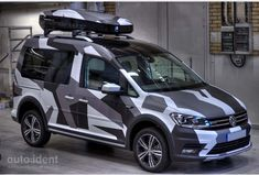 Vw Touran, Volkswagen Caddy, Vw Caddy Tuning, Caddy Van, Camouflage Patterns, Nissan Navara, Grand Vitara, Toyota 4x4, Bus Camper