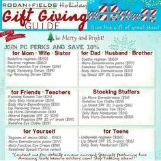 Awesome Gift giving ideas!!! Order by the 15th to ensure delivery before Christmas!!