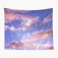 ind3finite Shop | Redbubble Tapestry Bedroom, Tapestry Wall Hanging, Wall Prints, Photo Wall Art, Wall Decor, Ocean, Clouds, Tapestries, Sky