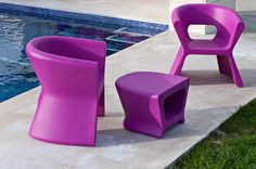 Outdoor Small armchair Pal by @vondom