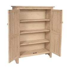 Show details for - JELLY CUPBOARD - what about 2 jelly cabinets. 48 x 2 wide and 51 high. made by whitewood. Hardwood Benches, Cabinet, Cookbook Storage, Cupboard Storage, Jelly Cupboard, Unfinished Furniture, Cupboard, Adjustable Shelving, Real Wood Furniture