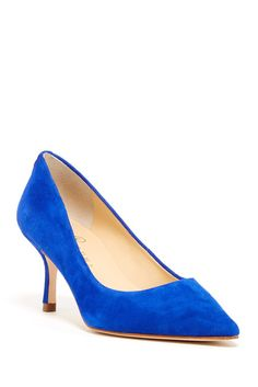 Don't step on my blue suede shoes!