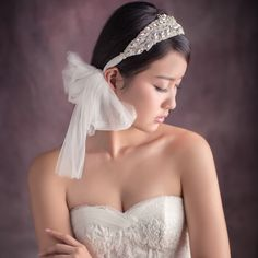 Being of Love Millinery - Bridal Accessories   #tiara #wedding #asiawedding #asiaweddingnetwork