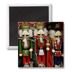 sold!  Three Wise Crackers - #Nutcracker Soldiers Magnet by #I_Love_Xmas shipping to Asheville, NC