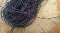 2 , 5 , 10   Yards Soft 2,3mm Round Black or Brown  Genuine Leather Cord for Craft Jewelry Making by MagushPlovdiv on Etsy