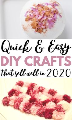 Best Money making crafts and easy crafts to sell for teens, kids and adults. These simple decor crafts are super cute! Find out these awesome craft fair ideas to sell. Craft Fair Ideas To Sell, Diy Projects To Make And Sell, Money Making Crafts, Easy Crafts To Sell, Diy Craft Projects, Decor Crafts, Fun Crafts, Crafts For Kids, Craft Ideas