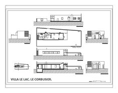 Villa Le Lac | Le Corbusier | Architecture students work for ETSAV