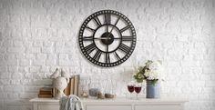 Metal Wall Clock - Slider Metal Clock, Metal Walls, Sliders, Home Decor, Dekoration, Decoration Home, Room Decor, Home Interior Design, Home Decoration