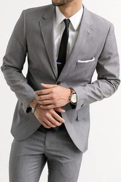 Pale Grey suit