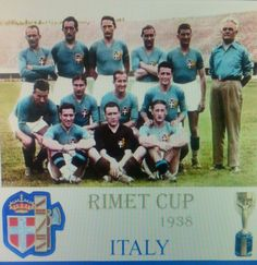1938 World Cup Winners Italy. Football Kits, Football Cards, Football Players, Baseball Cards, World Cup Teams, Fifa World Cup, World Cup Winners, International Teams, Everton Fc