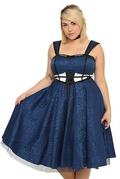 "I NEED THIS IN MY LIFE SO BAD!!!!!!!! Also love the plus size so much more than the smaller one!… this lace-up dress, starting at $79.50… | This New ""Doctor Who"" Clothing Line Is Size-Inclusive And Awesome"