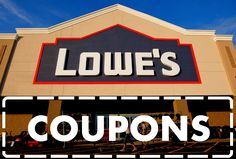 See all active Lowe's coupons and printables on DealsPlus: http://www.dealsplus.com/lowes-coupons