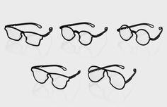 MONO is a brand-new range of glasses that are 3D printed to fit your face