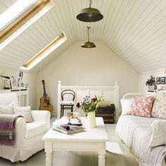 beautiful attic space