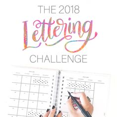 Drumroll, please! 🥁 The 2018 Lettering Challenge Prompts are here! Read all about how this year's challenge will work and grab a printable version over on the blog (link in profile). I'm also sharing the history of the DND challenges and my favorite places to find inspiration. Each day will have a theme. Within that theme, anything goes. You're the lettering artist and you have full creative freedom! . . ➡ You can swipe to grab a screenshot of the prompts. . . P.S. December is a month off…