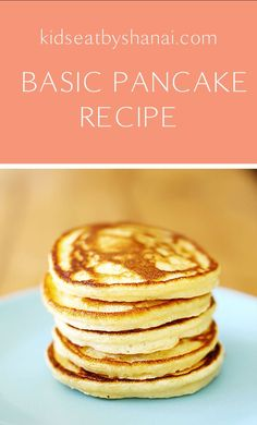 Basic pancake recipe Shanai kids eat Source by mal_todd Easy Crumpets Recipe, Homemade Crumpets, Homemade Pancakes, Pancakes Easy, How To Make Pancakes, Fluffy Pancakes, Easy Pancake Recipe For Kids, Best Pancake Recipe, Pancake Recipes