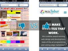 10 Reasons to Redesign Your Website: http://wafisherinteractive.com/10-reasons-to-redesign-your-website/#question6