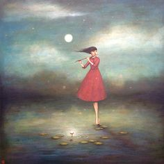 http://bluespiral1.com/ DUY  HUYNH River of Resonance  #FineArt #Flute