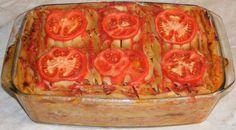 Musaca de post cu paste si soia Paste, Vegan, Drink, Food, Fine Dining, Beverage, Essen, Meals, Vegans