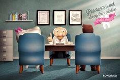 Rozwód nie zawsze jest najlepszym rozwiązaniem! - przekonuje przedstawiciel kliniki dentystycznej ;)