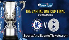 Wembley Stadium is going to host Capital One Cup Final 2015 between Chelsea and Tottenham Hotspur on 1st March. The match will start at 16:00 GMT and SportsAndEventsTickets.com is proudly announcing the tickets of that thrilling game with the best prices. Visit: https://www.sportsandeventstickets.com/capital-one-cup-tickets/capital-one-cup-final-tickets/
