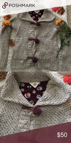 ❤Anthropologie Sweater❤ ❤In good used condition Anthropologie sweater by HWR in size Medium❤ Anthropologie Sweaters