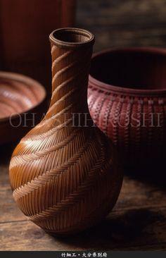 Japanese craftsman : Bamboo ware in Oita (photo by Hiroshi Ohashi)