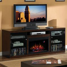 1000 Images About Electric Fireplaces Entertainment