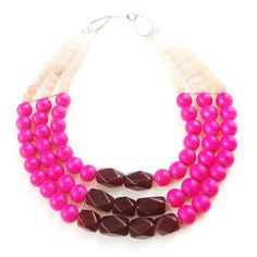 cerise necklace by irene wood, history+industry.