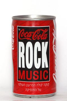 Coca-Cola Can from Israel 1991