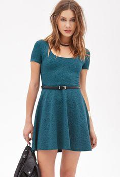 Vestido Matelassé Rosas - vestidos - 2000137270 - Forever 21 EU