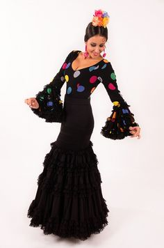 Pavon 2-Coleccion Tokio 2015-El Ajoli-Trajes de flamenca