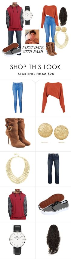 """""""THIRD SET AND INSPIRED BY NASH"""" by matt-espinosa-is-bae-4-ever on Polyvore featuring Paige Denim, Crea Concept, Burberry, Carolina Bucci, BCBGMAXAZRIA, Nudie Jeans Co., Enyce, Vans and Daniel Wellington"""
