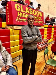 Donald Haman, who is considered the most successful boys basketball coach in Glasgow High School history, returned to center court to be honored (Newark Post)