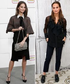 15 Style Lessons We Learned from Alicia Vikander - Femme Up Menswear  - from InStyle.com