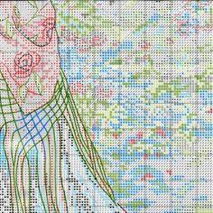 Схема вышивки В ее саду (Dimensions) 6 из 8