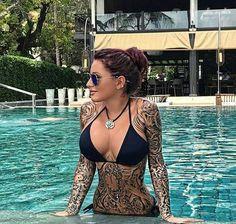 Tattoos Discover Risultati immagini per julia jasmin rühle aka jj Hot Tattoo Girls Tattoed Girls Inked Girls Hot Tattoos Sleeve Tattoos Girl Tattoos Cutest Tattoos Tattoo Ink Tatoos Lower Hip Tattoos, Side Tattoos, Cover Up Tattoos, Navy Tattoos, Boho Tattoos, Trash Polka, Tattoed Girls, Inked Girls, Tattoo Caligraphy