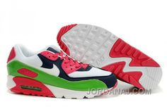 352642 111 Womens Nike Air Max 90 Multicolor ID Pack White Red Green Black  AMFW0248