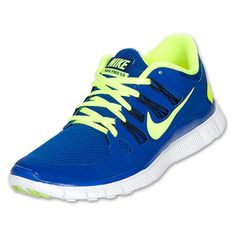 Nike Men's Nike Free 5.0+ Running Shoes [579959 470] - $89.99 : Hyper Blue/Black/Blue Tint/Volt